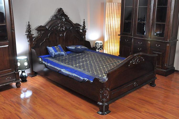 Tempat tidur Victorian